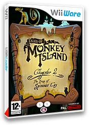 Tales of Monkey Island Chapter 2 : The Siege of Spinner Cay pochette WiiWare (WISP)