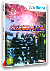 Space Invaders Get Even pochette WiiWare (WIVP)