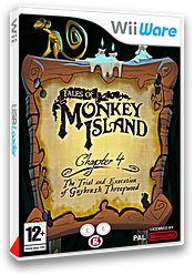 Tales of Monkey Island Chapter 4 : The Trial and Execution of Guybrush Threepwood pochette WiiWare (WIYP)
