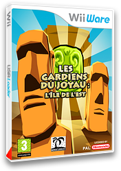 Les Gardiens du Joyau:l'Île de l'Est pochette WiiWare (WJKP)