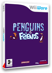 Penguins & Friends Hey! That's my Fish! pochette WiiWare (WNEP)