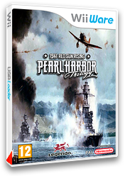 Pearl Harbor Trilogy 1941: Red Sun Rising pochette WiiWare (WP3P)
