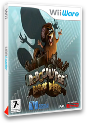 Robocalypse - Beaver Defense pochette WiiWare (WRBP)