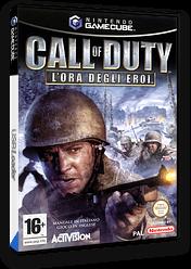 Call of Duty: L'Ora Degli Eroi GameCube cover (GCOP52)