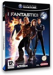 I fantastici 4 GameCube cover (GF4I52)
