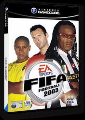 FIFA Football 2003 GameCube cover (GFAI69)