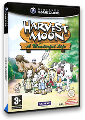 Harvest Moon: A Wonderful Life GameCube cover (GYWPE9)