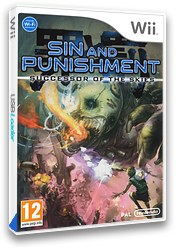 Sin and Punishment: Successor of the Skies Wii cover (R2VP01)