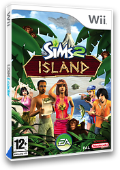 The Sims 2: Island Wii cover (R42P69)