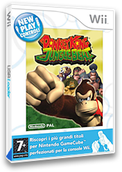 Donkey Kong: Jungle Beat Wii cover (R49P01)