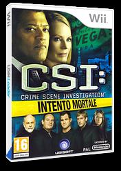 CSI: Intento Mortale Wii cover (R5UP41)