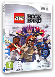 LEGO Rock Band Wii cover (R6LPWR)