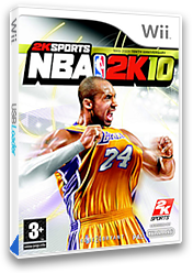 NBA 2K10 Wii cover (R76P54)