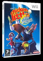 Chicken Little: Asso Spaziale Wii cover (RCLP4Q)
