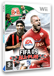 FIFA 09 All-Play Wii cover (RF9P69)