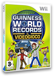 Guinness World Records: Il Videogioco Wii cover (RG5PWR)