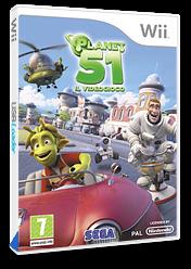 Planet 51: Il Videogioco Wii cover (RGAP8P)