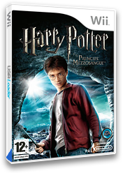 Harry Potter e il Principe Mezzosangue Wii cover (RH6P69)