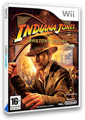 Indiana Jones e il Bastone dei Re Wii cover (RJ8P64)