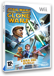 Star Wars The Clone Wars: L'era dei duelli Wii cover (RLFP64)