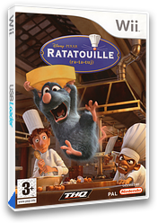 Ratatouille Wii cover (RLWY78)