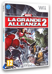 Marvel: La Grande Alleanza 2 Wii cover (RMSP52)