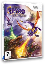 The Legend of Spyro: L'Alba del Drago Wii cover (RO8P7D)