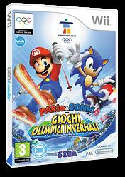 Mario & Sonic ai Giochi Olimpici Invernali Wii cover (ROLP8P)