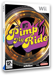 Pimp My Ride Wii cover (RPIP52)