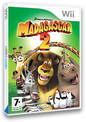 Madagascar 2 Wii cover (RRGP52)
