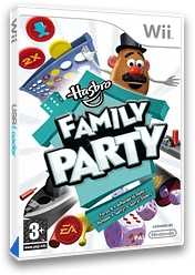 Hasbro Family Party Wii cover (RRMP69)