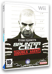 Tom Clancy's Splinter Cell: Double Agent Wii cover (RTCP41)