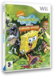 Spongebob e i suoi amici: Globulous all'attacco! Wii cover (RUSX78)