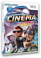 Cinema Party Wii cover (RVQP41)