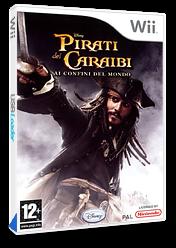 Pirati dei Caraibi: Ai Confini del Mondo Wii cover (RW3P4Q)