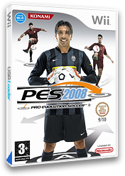 Pro Evolution Soccer 2008 Wii cover (RWEPA4)