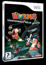 Worms: Verm'Odissea nello Spazio Wii cover (RWMP78)