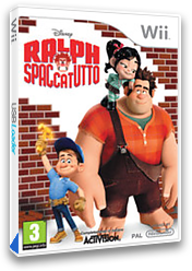 Ralph Spaccatutto Wii cover (S6RP52)