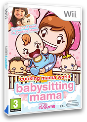 Cooking Mama World: Babysitting Mama Wii cover (SBWPGT)