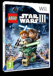 LEGO Star Wars III:La Guerra Dei Cloni Wii cover (SC4P64)