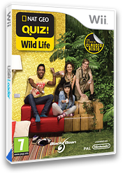 Nat Geo Quiz! Wild Life Wii cover (SGEPLG)