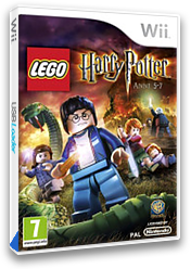 LEGO Harry Potter: Anni 5-7 Wii cover (SLHPWR)