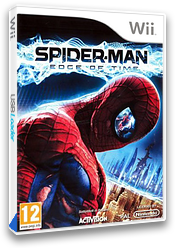 Spider-Man: Edge of Time Wii cover (SQMP52)