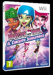 Monster High: Il Circuito Scheletrico Wii cover (SU5PVZ)
