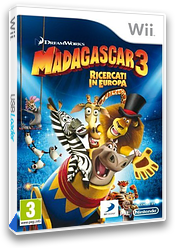 Madagascar 3: Ricercati in Europa Wii cover (SV3PAF)