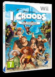 I Croods: Festa Preistorica! Wii cover (SVVPAF)