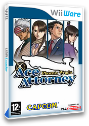 Phoenix Wright: Ace Attorney WiiWare cover (WGSI)