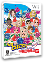WE CHEER Wii cover (DCHJAF)