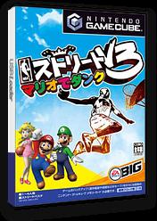 NBAストリートV3 マリオでダンク GameCube cover (G3VJ13)