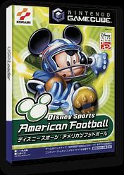 ディズニースポーツ:アメリカンフットボール GameCube cover (GDWJA4)